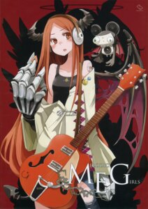 Rating: Safe Score: 32 Tags: chroma_of_wall guitar headphones horns saitom tansuke User: blooregardo