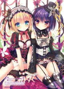 Rating: Questionable Score: 57 Tags: cameltoe cleavage gothic_lolita lolita_fashion pantsu rubi-sama stockings thighhighs User: kiyoe