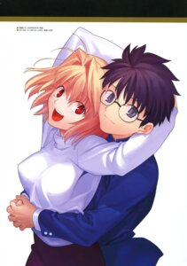 Rating: Safe Score: 13 Tags: arcueid_brunestud megane toono_shiki tsukihime type-moon User: fireattack