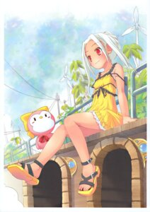 Rating: Safe Score: 13 Tags: dress magical_himawari me-kun moetan pop summer_dress tan_lines User: MugiMugi