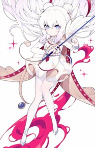 Rating: Safe Score: 23 Tags: azur_lane fukurou_(hvgd5584) le_malin_(azur_lane) pantyhose sword uniform User: Nepcoheart