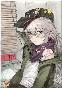 Rating: Safe Score: 13 Tags: g11_(girls_frontline) girls_frontline hiranko sketch tattoo User: charunetra