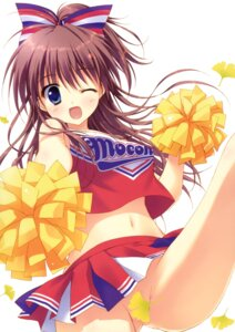 Rating: Questionable Score: 114 Tags: cheerleader nopan ryohka User: StardustKnight