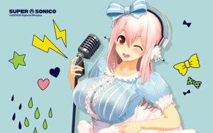Rating: Safe Score: 30 Tags: headphones nitroplus sonico super_sonico wallpaper User: beitiao