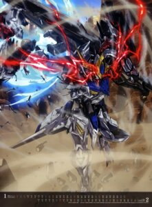 Rating: Safe Score: 8 Tags: arisawa_hiroshi calendar gundam gundam_iron-blooded_orphans mecha User: drop