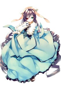 Rating: Safe Score: 22 Tags: 189 heterochromia lolita_fashion rozen_maiden suiseiseki User: bunnygirl