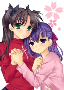Rating: Safe Score: 11 Tags: 467 fate/stay_night matou_sakura toosaka_rin User: Syko83