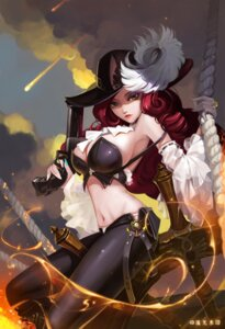 Rating: Questionable Score: 48 Tags: cleavage gun league_of_legends liuguang_shuiyin miss_fortune no_bra pantsu signed User: charunetra