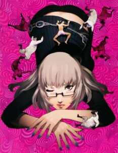 Rating: Safe Score: 31 Tags: catherine_(game) horns katherine_mcbride megane soejima_shigenori vincent_brooks User: charunetra