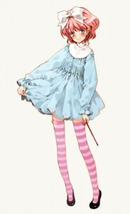 Rating: Safe Score: 12 Tags: aria_vancleef dress littlewitch lolita_fashion oyari_ashito shoujo_mahou_gaku_little_witch_romanesque skirt_lift thighhighs User: petopeto
