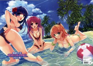 Rating: Questionable Score: 115 Tags: ass bikini cleavage crease misaki_kurehito swimsuits User: fireattack