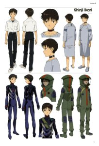 Rating: Safe Score: 5 Tags: bodysuit ikari_shinji male neon_genesis_evangelion User: vkun