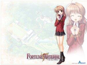Rating: Safe Score: 11 Tags: bekkankou fortune_arterial seifuku wallpaper yuuki_haruna User: admin2