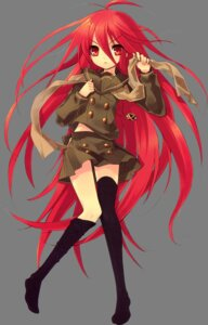 Rating: Safe Score: 40 Tags: ito_noizi seifuku shakugan_no_shana shana thighhighs transparent_png User: yueshana314