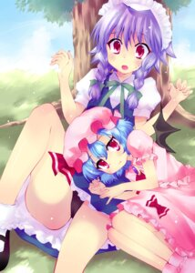 Rating: Questionable Score: 20 Tags: aya_ojo cameltoe izayoi_sakuya pantsu remilia_scarlet touhou User: Mr_GT