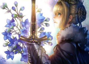 Rating: Safe Score: 57 Tags: fate/stay_night hiroe_rei saber sword type-moon User: drop