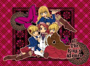 Rating: Questionable Score: 4 Tags: beatrice bondage takagi umineko_no_naku_koro_ni ushiromiya_battler User: Radioactive