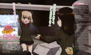 Rating: Questionable Score: 26 Tags: girls_und_panzer katyusha nonna sugimoto_isao uniform User: drop