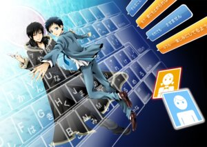 Rating: Safe Score: 5 Tags: durarara!! male orihara_izaya ryuugamine_mikado seifuku wool User: charunetra