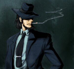 Rating: Safe Score: 6 Tags: jigen_daisuke ledjoker07 lupin_iii male User: mash
