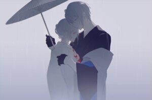 Rating: Safe Score: 20 Tags: blood kimono miyuki_(miyuki0529) umbrella User: hexhex