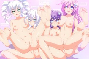 Rating: Explicit Score: 104 Tags: anus black_heart black_sister blue-senpai choujigen_game_neptune feet naked nipples purple_heart purple_sister pussy uncensored yuri User: Deadhunt