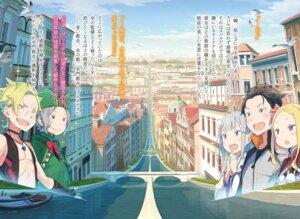 Rating: Safe Score: 8 Tags: landscape ootsuka_shinichirou pointy_ears re_zero_kara_hajimeru_isekai_seikatsu User: kiyoe