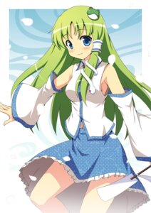 Rating: Safe Score: 21 Tags: kochiya_sanae touhou yamasan User: fairyren