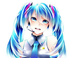 Rating: Safe Score: 17 Tags: 1055 hatsune_miku headphones tattoo vocaloid User: charunetra