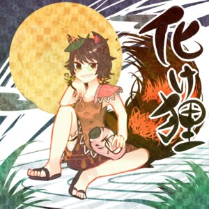 Rating: Safe Score: 8 Tags: animal_ears futatsuiwa_mamizou itomugi-kun megane tail touhou User: vanilla