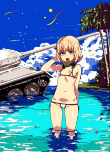 Rating: Questionable Score: 48 Tags: bikini cameltoe erect_nipples girls_und_panzer katyusha loli swimsuits tasaka_shinnosuke wet User: Mr_GT