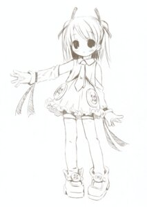 Rating: Safe Score: 8 Tags: dress monochrome pop thighhighs User: petopeto