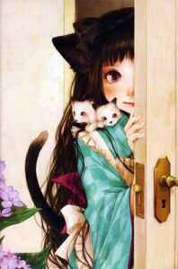 Rating: Safe Score: 18 Tags: animal_ears enta_shiho maid neko nekomimi tail wa_maid User: charunetra