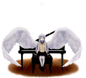 Rating: Safe Score: 7 Tags: angel_beats! seifuku tenshi tomi wings User: charunetra