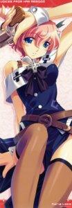 Rating: Safe Score: 13 Tags: karen_(artist) kimi_ga_yobu_megiddo_no_oka_de leaf maria_loco stick_poster User: admin2