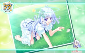 Rating: Safe Score: 18 Tags: 77 chibi dress kuu_(77) tenmaso wallpaper whirlpool User: yumichi-sama
