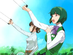 Rating: Safe Score: 6 Tags: a1 akizuki_ritsuko initial-g otonashi_kotori the_idolm@ster User: Radioactive