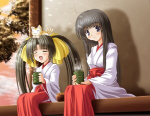 Rating: Safe Score: 4 Tags: miko neko noritama_(gozen) User: Radioactive