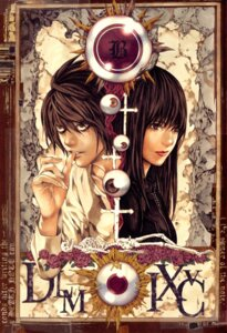 Rating: Safe Score: 10 Tags: beyond_birthday death_note l misora_naomi obata_takeshi User: Umbigo