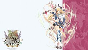 Rating: Questionable Score: 14 Tags: brave_girl_ravens cleavage horns thighhighs wallpaper weapon yoshino_ryou User: zyll
