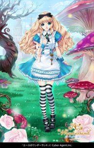 Rating: Safe Score: 16 Tags: alice alice_in_wonderland kunishige_keiichi thighhighs User: Nekotsúh