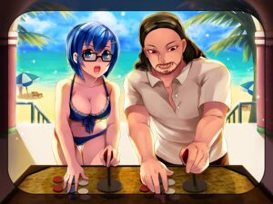 Rating: Safe Score: 17 Tags: bikini cleavage hunie_pop megane nikki_ann-marie swimsuits User: Teddyzipper