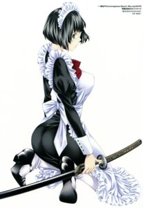 Rating: Questionable Score: 25 Tags: ass eyepatch heels ikkitousen ikkitousen~extravaganza_epoch~ maid ryomou_shimei shiozaki_yuuji sword User: YamatoBomber