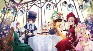 Rating: Safe Score: 24 Tags: dress heterochromia hina_ichigo kanaria kunkun rozen_maiden shinku souseiseki sptuel suiseiseki User: Noodoll