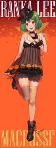 Rating: Safe Score: 22 Tags: cleavage macross macross_frontier ranka_lee rin2010 see_through thighhighs User: Spidey