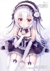 Rating: Safe Score: 65 Tags: gothic_lolita lolita_fashion mitsuba_choco stockings tagme thighhighs User: kiyoe