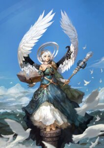 Rating: Safe Score: 33 Tags: angel dress shaonav wings User: blooregardo