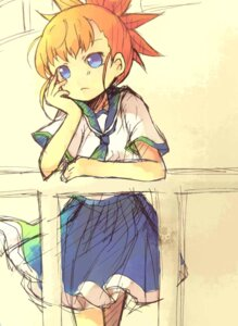 Rating: Safe Score: 13 Tags: digimon digimon_tamers eevee-moon makino_ruki seifuku User: krazy-kun