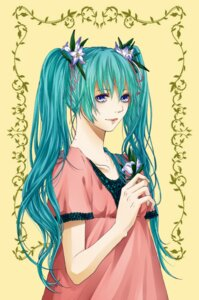 Rating: Safe Score: 3 Tags: dress hatsune_miku rico_(fbn3) vocaloid User: charunetra