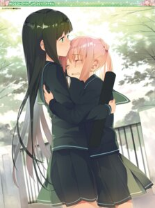 Rating: Safe Score: 41 Tags: akinashi_yuu seifuku yuri User: Twinsenzw
